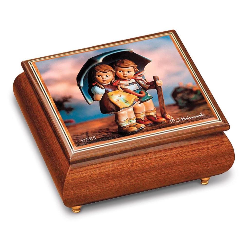 Artist Hummel Stormy Weather Music Box, MPN: GM15106, UPC: 802192910502