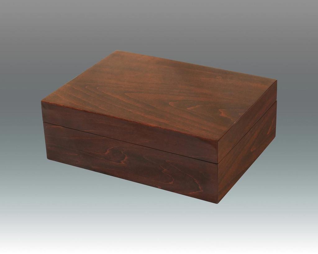 Tizo Wooden Box 8 x 6 x 3 Inch NC13BRNBX - Brown, MPN: NC13BRNBX