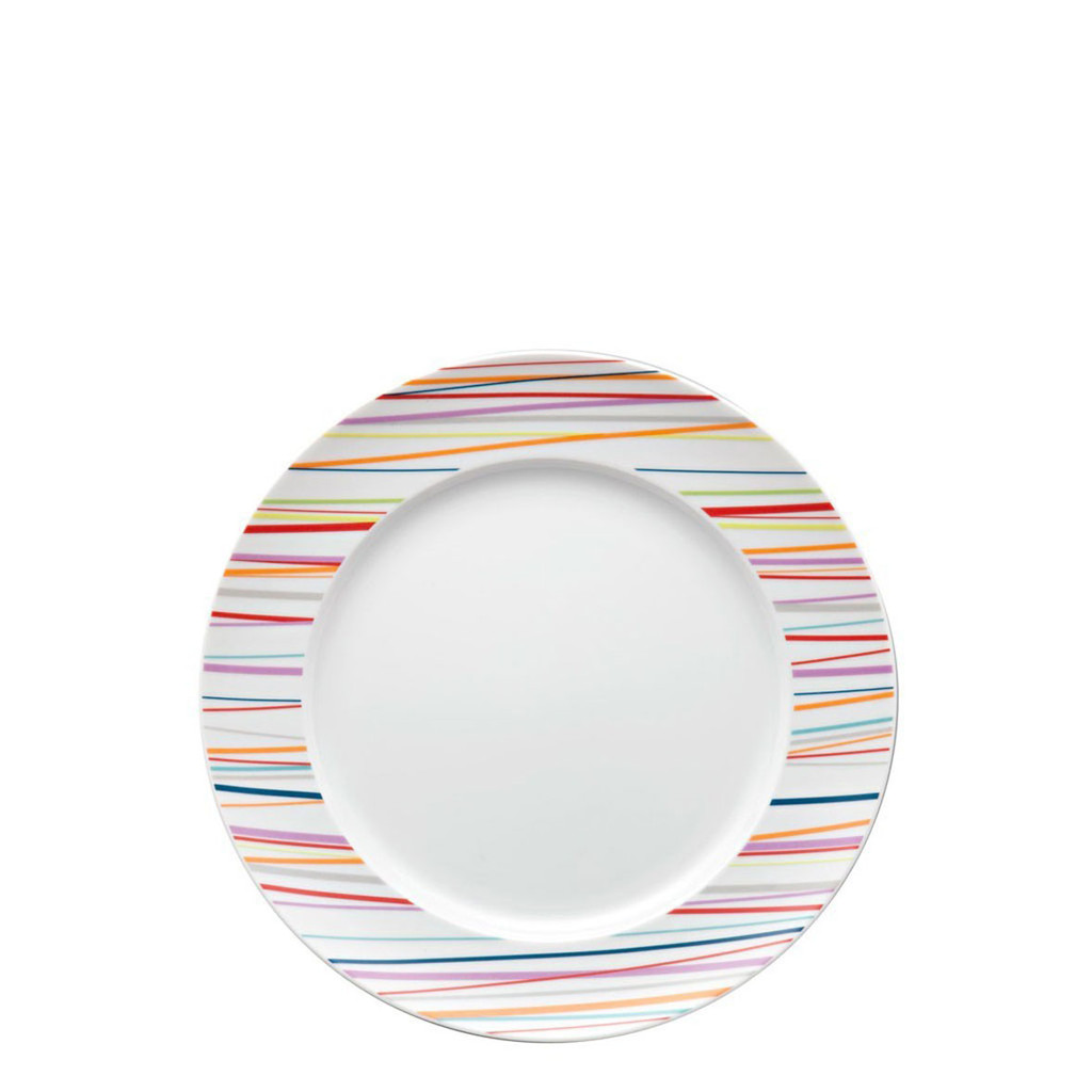Rosenthal Sunny Day Stripes Salad Plate Round 8 1/2 Inch MPN: 10850-408715-10222 UPC: 790955915091