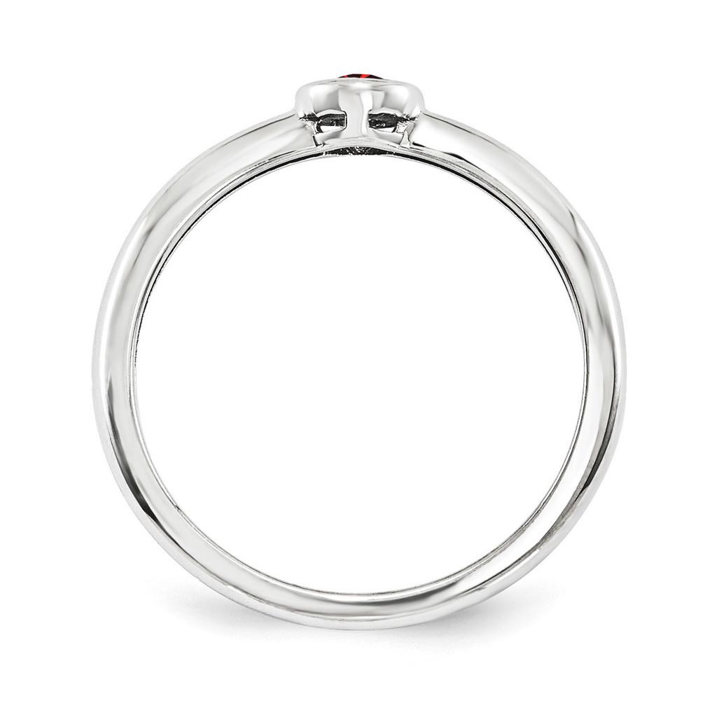 14K White Gold Genuine Ring Family WM1441-1GY