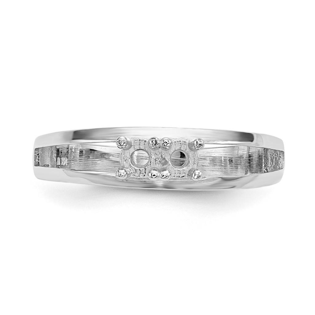 14K White Gold Ring Mounting Family & Mother XMR71/2W-7