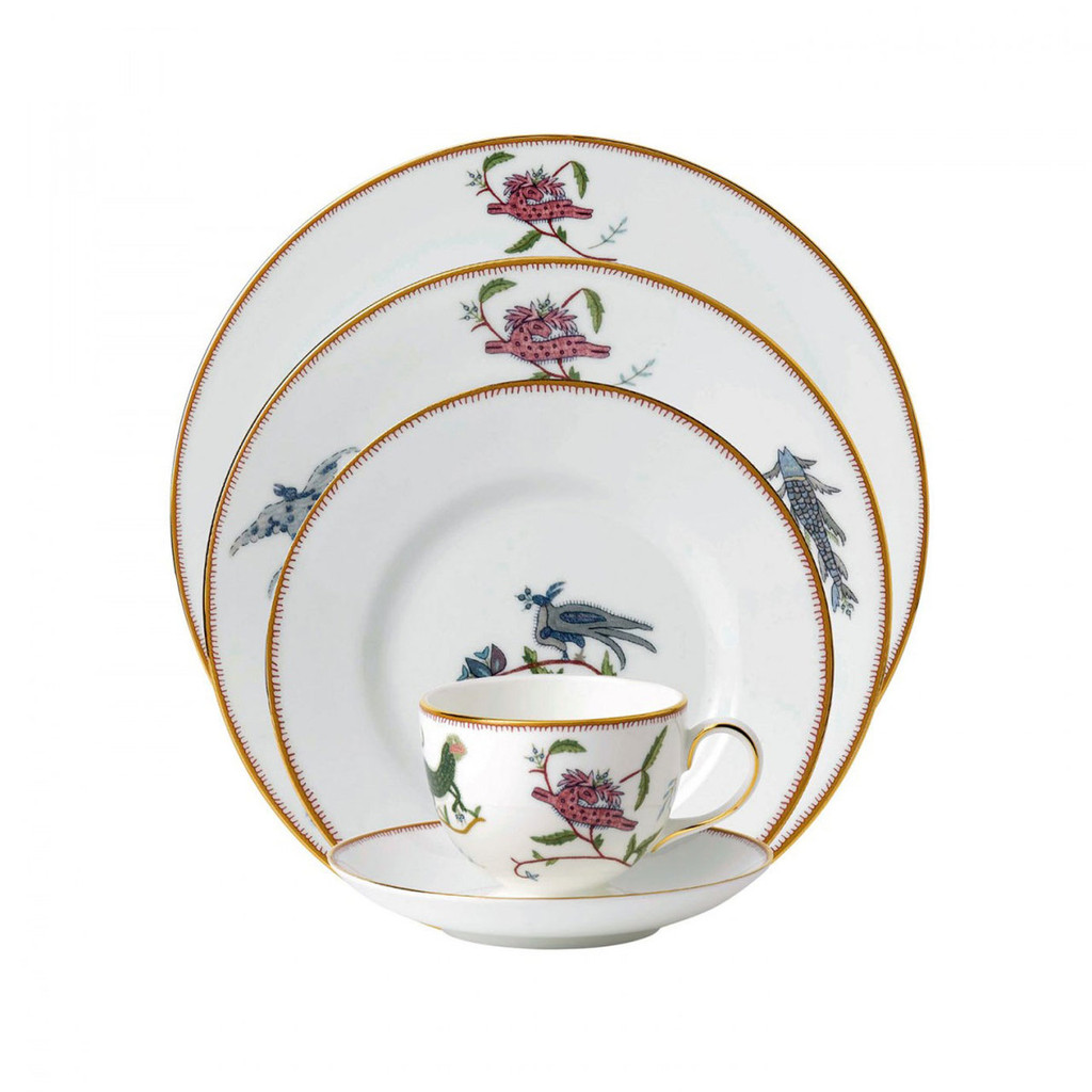 Wedgwood Mythical Creatures Mythical Creatures 5-Piece Place Setting, MPN: 40015252, UPC: 701587253116