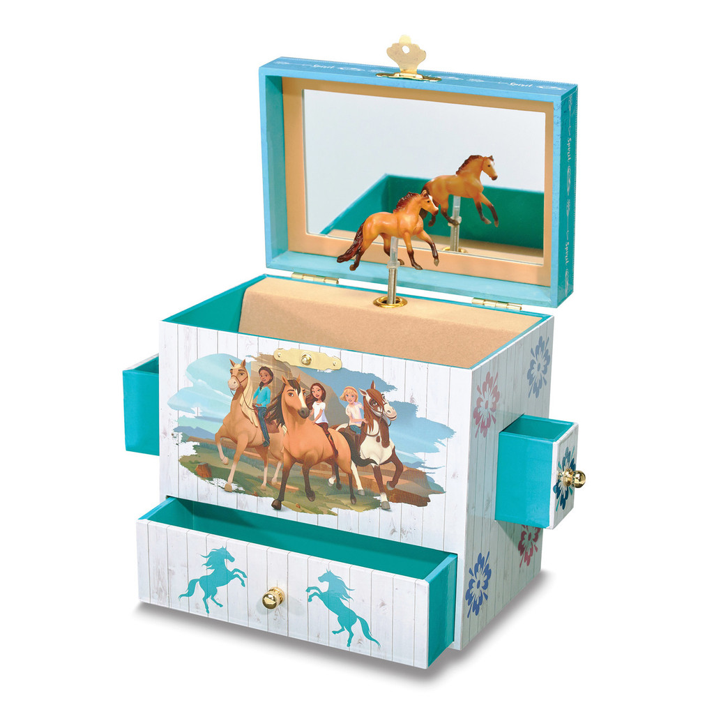 Child's Spirit & Lucky Musical Jewelry Box, MPN: GM18128, UPC: 19756092290
