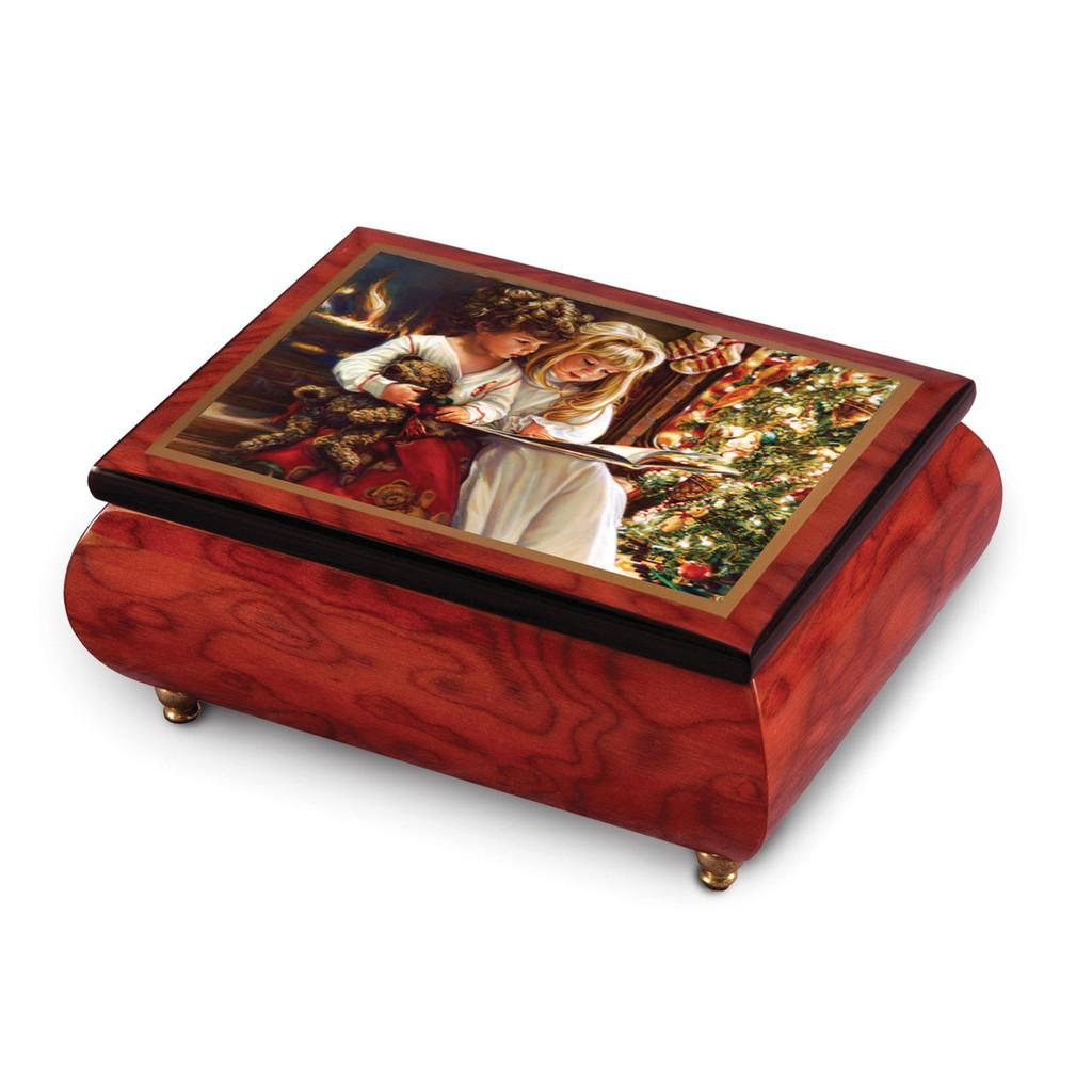 Artist Sandra Kuck - Night Before Christmas Music Box, MPN: GM18763, UPC: 802192956619