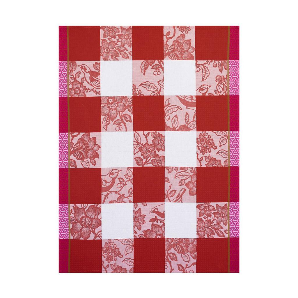 Le Jacquard Francais Estampe Chinoise Fire Tea Towel 24 X 31 Inch MPN: 23483 EAN: 3660269234836