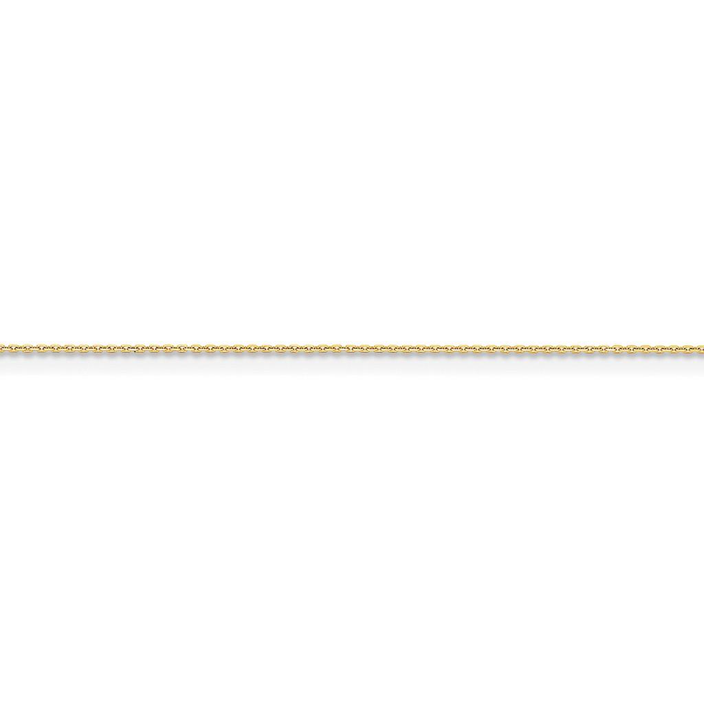 .95mm Diamond-cut Cable Chain 14k Gold, MPN: PEN17S, UPC: 886774419206