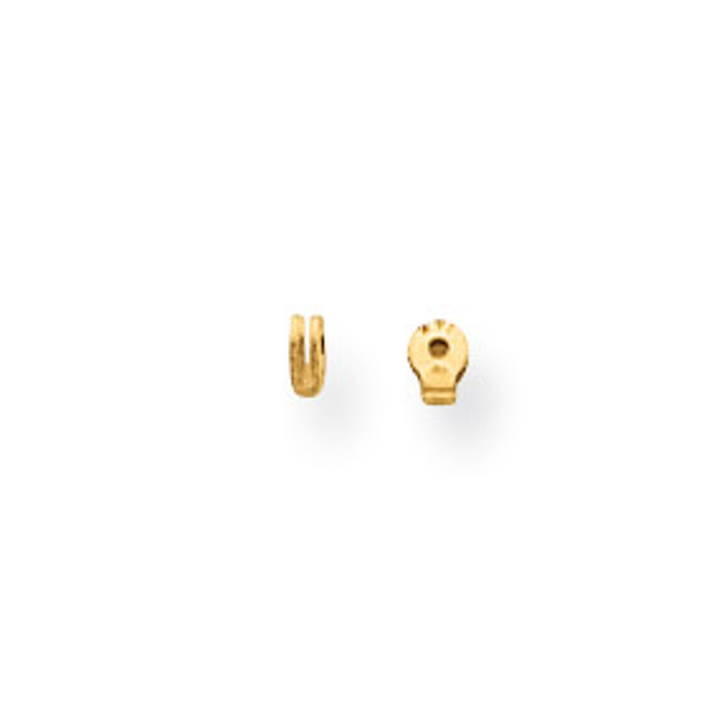 Earring Replacement Hoop Joint Component 14k Gold MPN: YG742 UPC:
