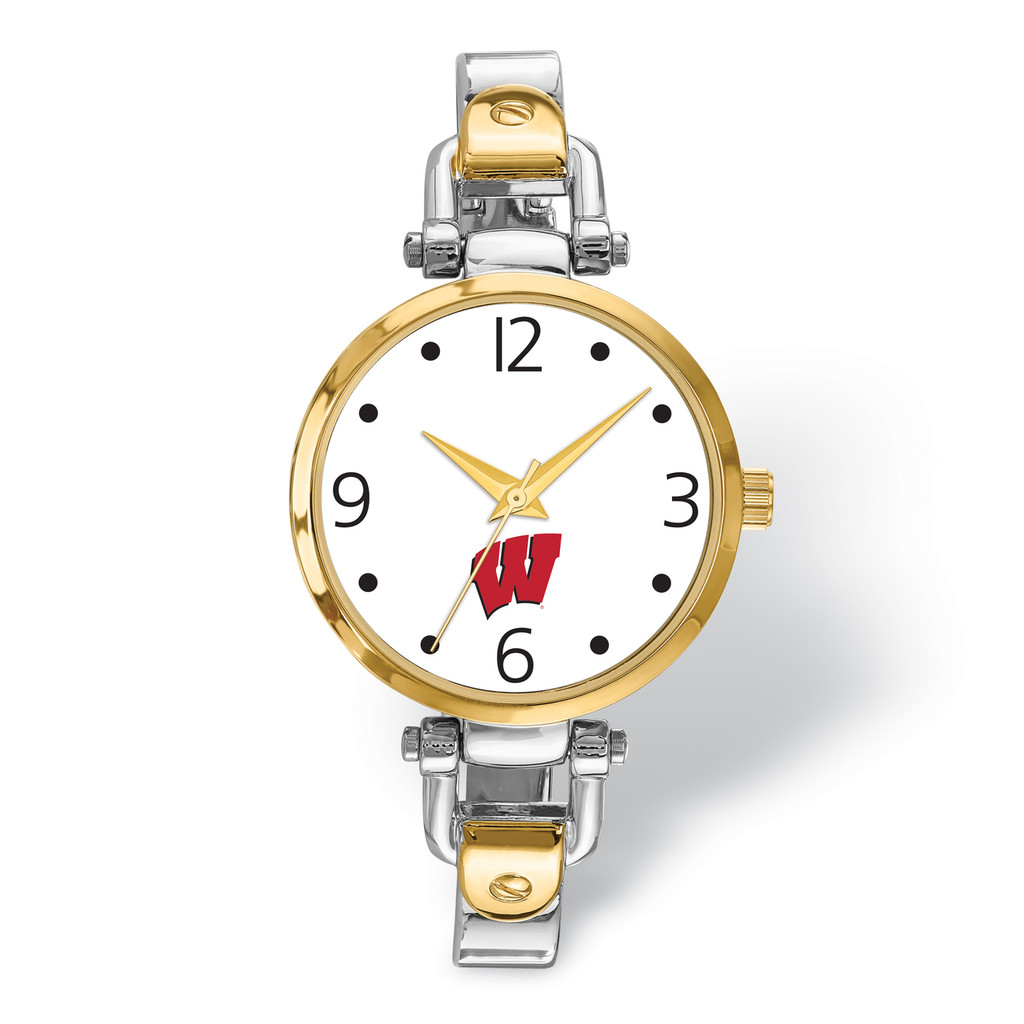University of Wisconsin Elegant Ladies 2-tone Watch MPN: UWI172 UPC: 634401358059