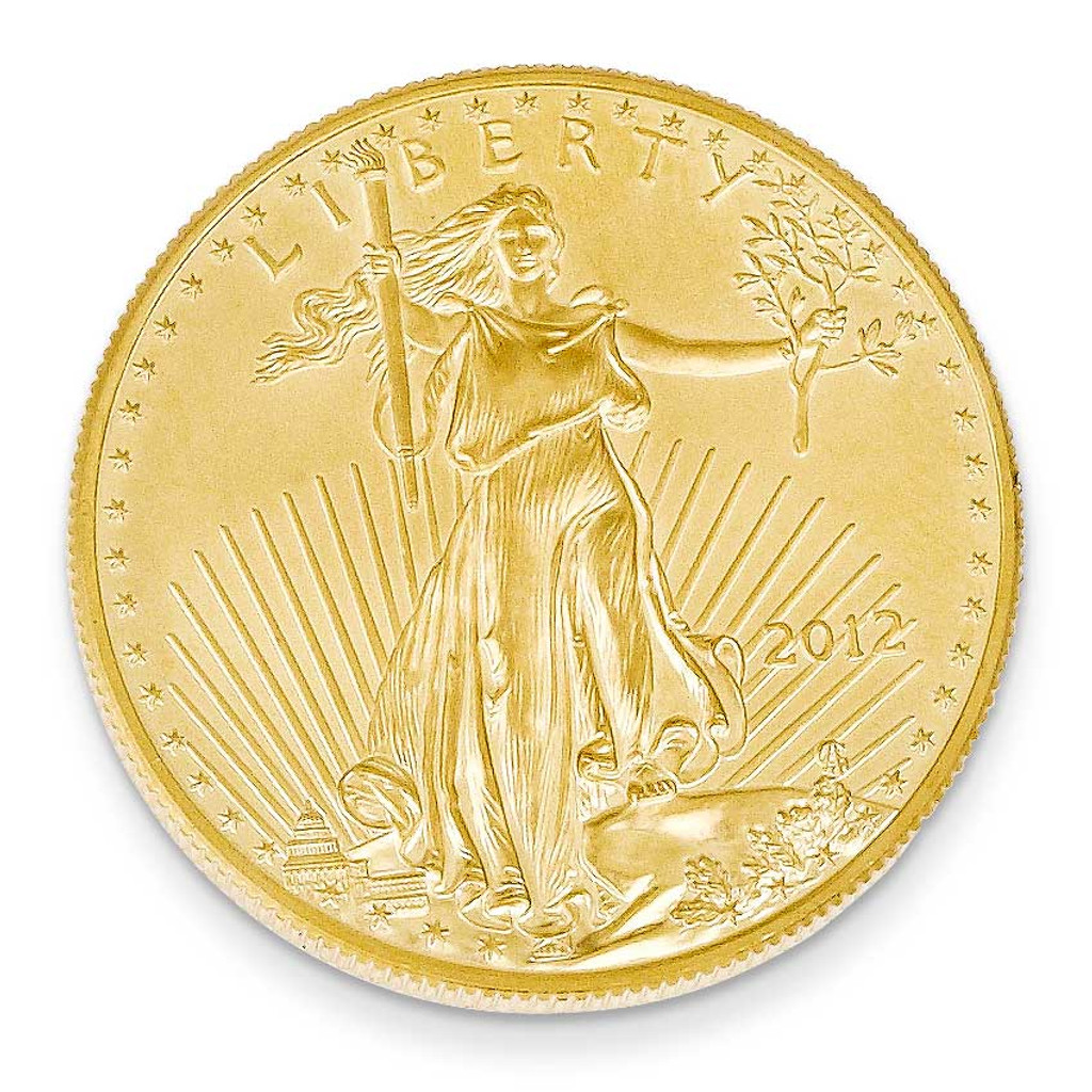22k Gold 1oz American Eagle Coin, MPN: 1AE, UPC: 191101636875