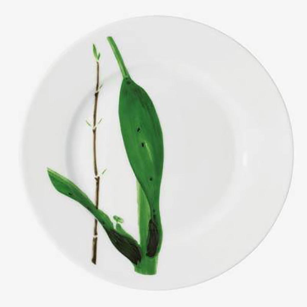 Raynaud Limoges Verdures Salad Cake Plate, MPN: 0597-17-101019, EAN: 3660006562574, UPC: 790955038660