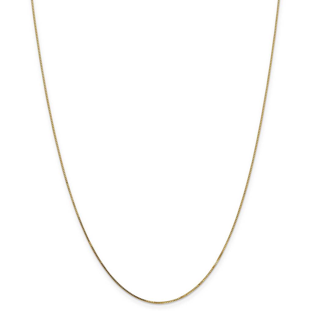 14k Gold .7mm Box Chain, MPN: PEN2-16, UPC: 883957002163