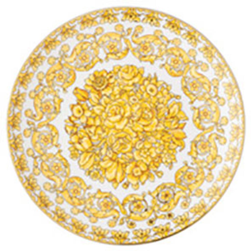 Versace Medusa Rhapsody Salad Plate 8 1/4 Inch, MPN: 19335-403670-10221, UPC: 790955109889, EAN: 4012437372496.