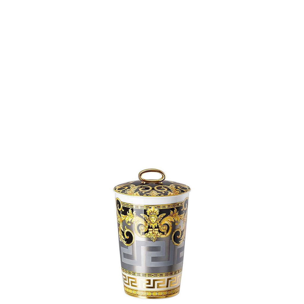 Versace Prestige Gala Scented Votive Candle with Lid 5 1/2 Inch, MPN: 14402-403637-24868, UPC: 790955110403, EAN: 4012437372397.