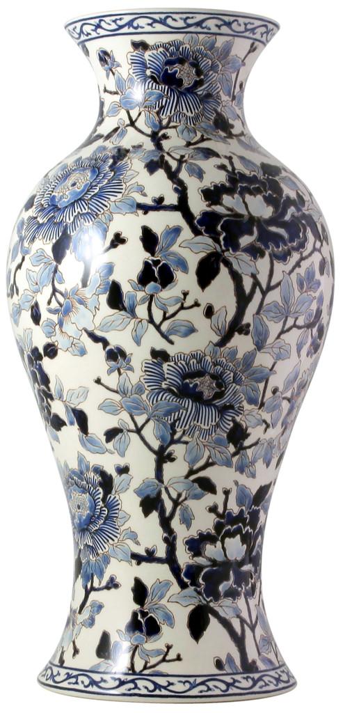 Gien Pivoines Bleues Potiche Japonaise, MPN: 1665CPJA00, EAN: 0840769044231