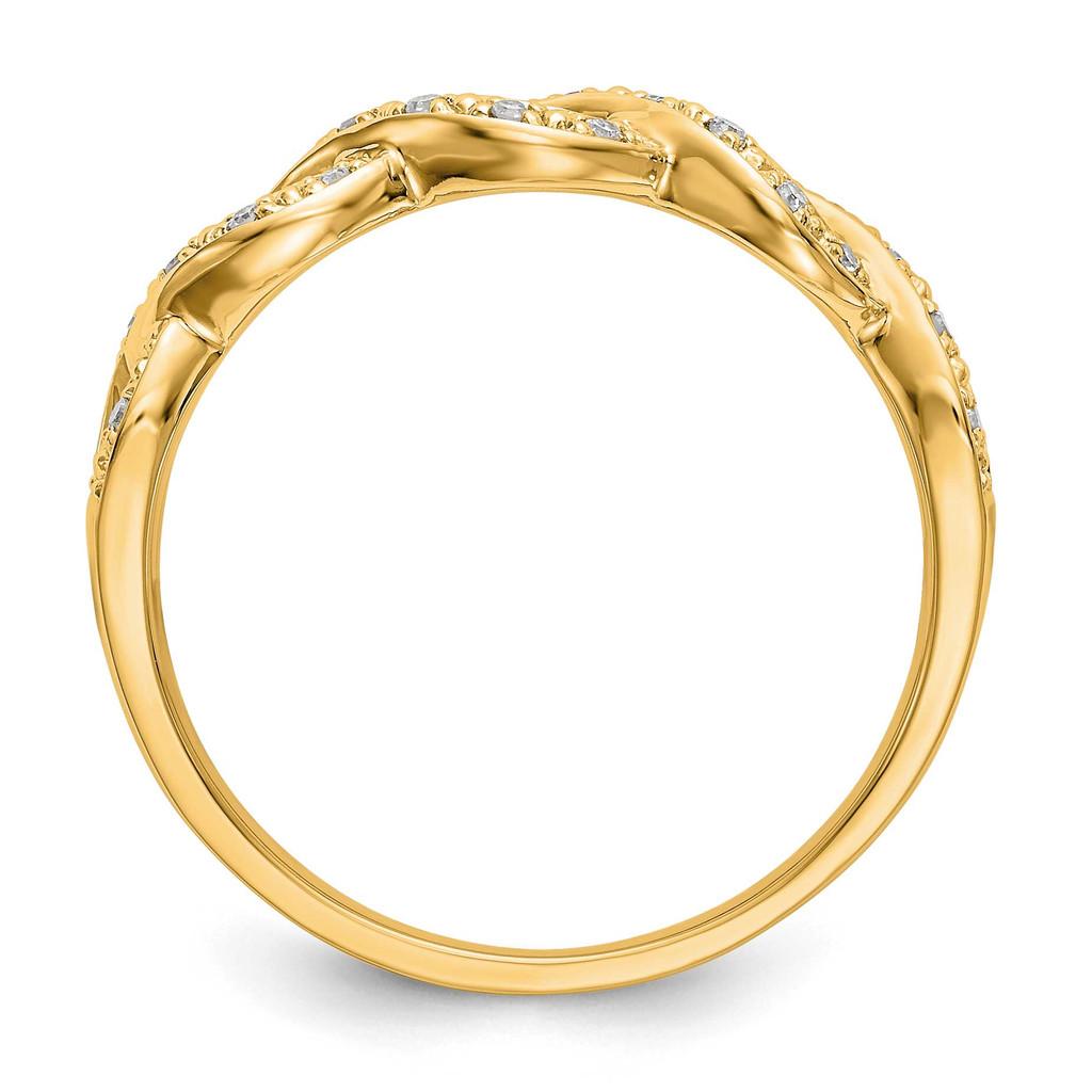 Diamond Band 14k Yellow Gold RM3385B-010-YAA