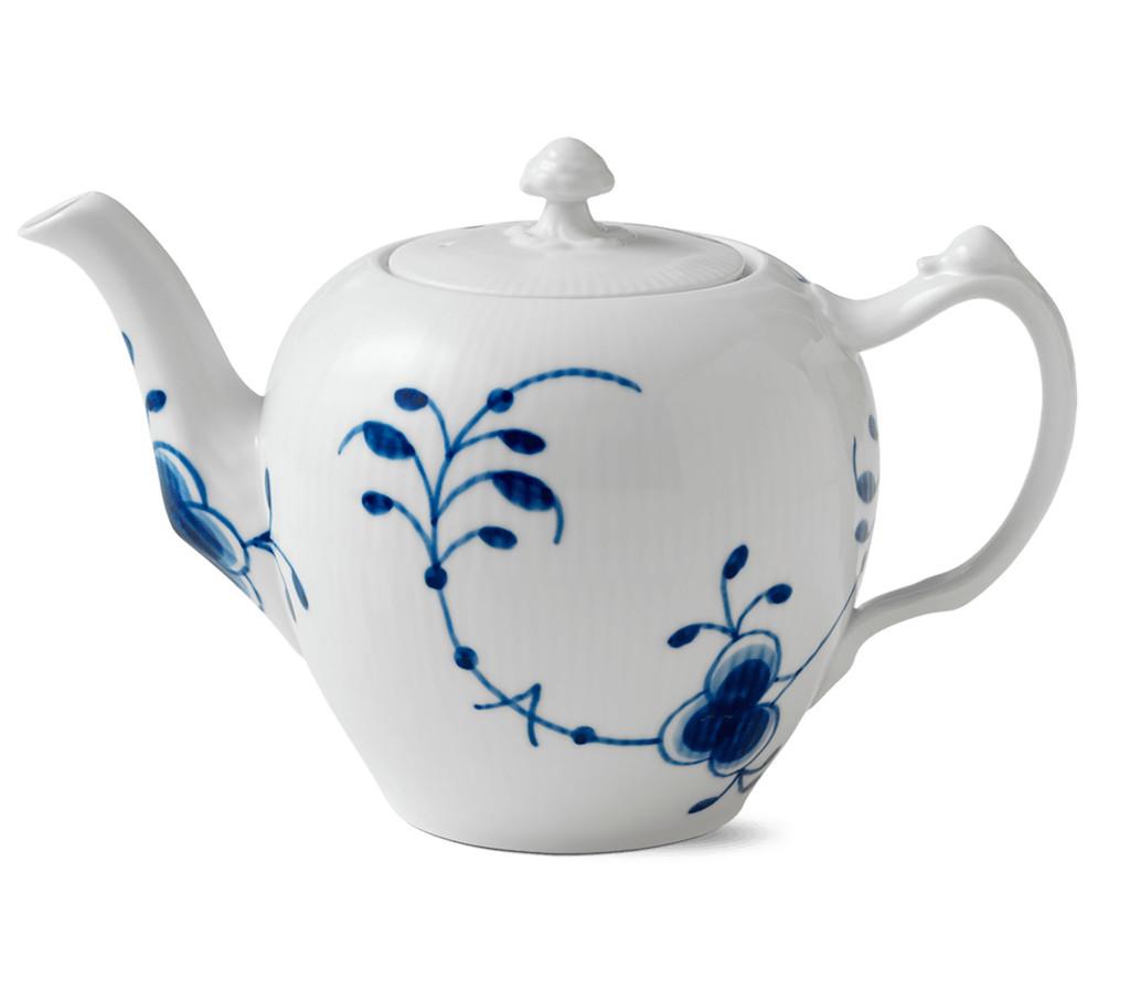 Royal Copenhagen Blue Fluted Mega Tea Pot 1Qt, MPN: 1017340, EAN: 5705140014331