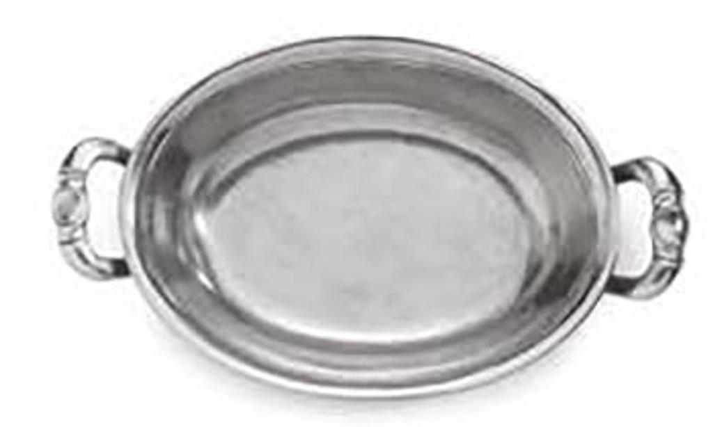 Arte Italica Peltro Oval Bowl with Handles, MPN: PEL6790, UPC: 814639004618