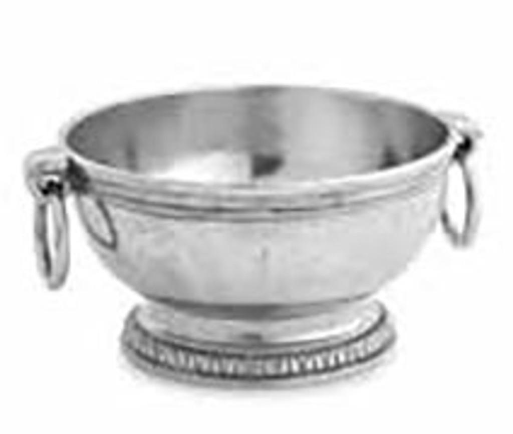 Arte Italica Peltro Small Bowl with Ring Handles, MPN: PEL6759, UPC: 814639004595
