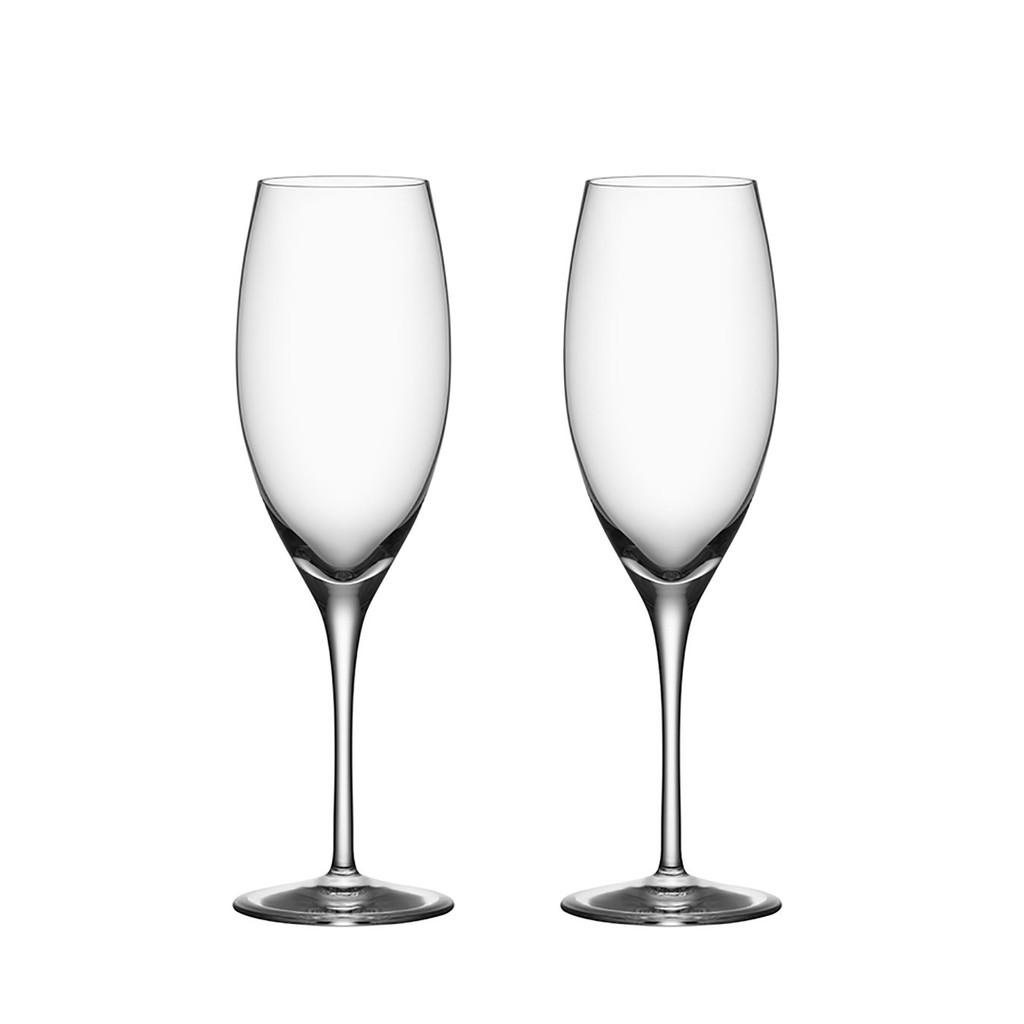 Orrefors Premier Champagne  Set of Two, MPN: 6180114, EAN: 7321646045853