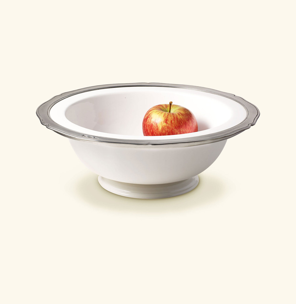 Match Pewter Viviana Round Footed Serving Bowl Large, MPN: A879.0