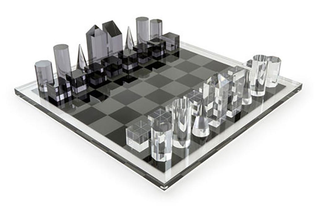 Tizo Acrylic Royal Chess Set, MPN: HA113CHES
