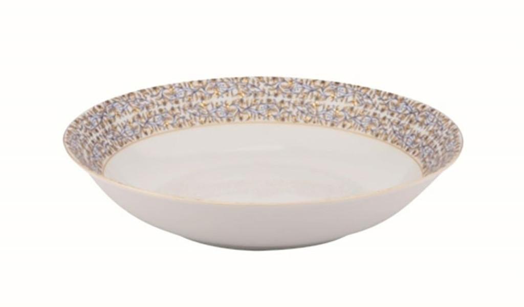 Deshoulieres Vignes White Deep Round Platter, MPN: 034355, UPC/EAN: 3104363079288