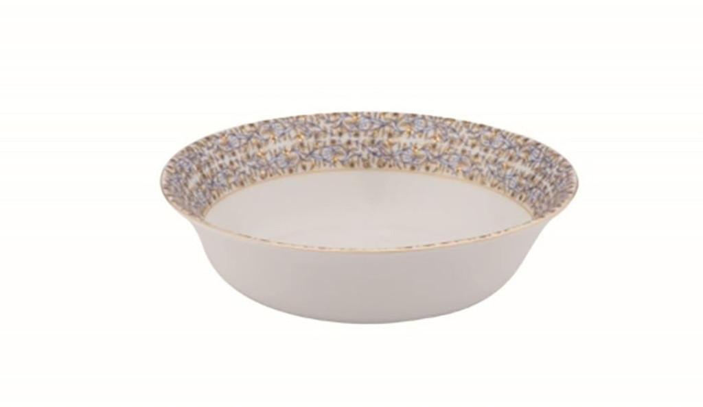 Deshoulieres Vignes White Soup Cereal Plate, MPN: 034340, UPC/EAN: 3104363078533