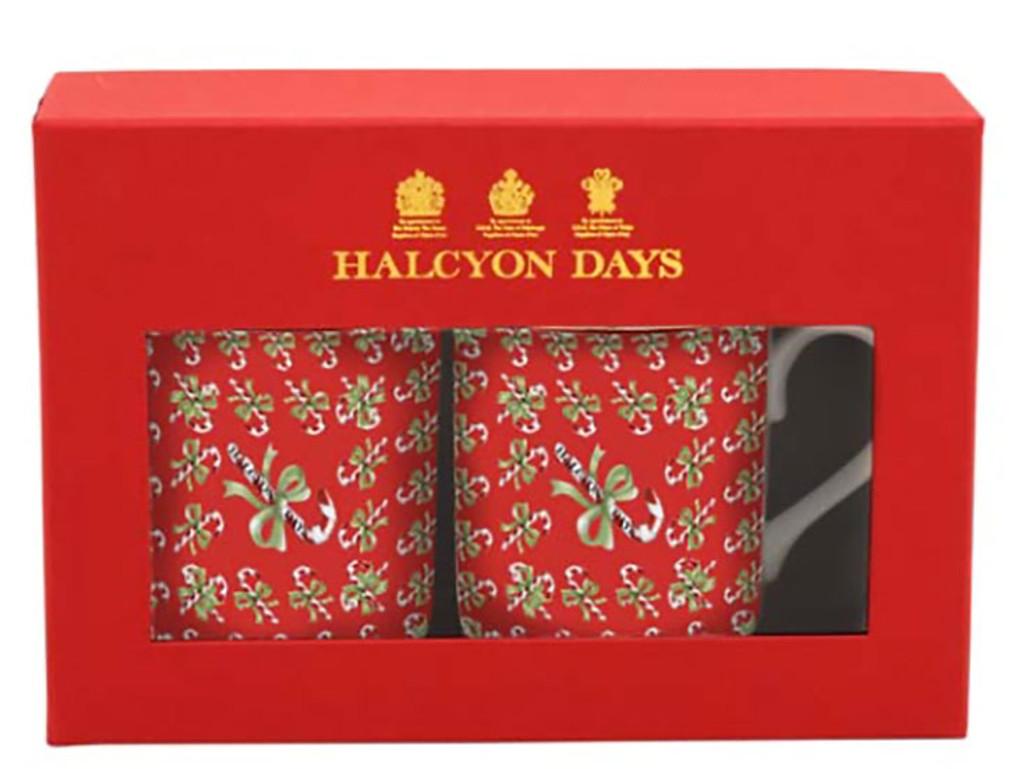 Halcyon Days Candy Cane Array Mug Set, MPN: BCCCA01MSG