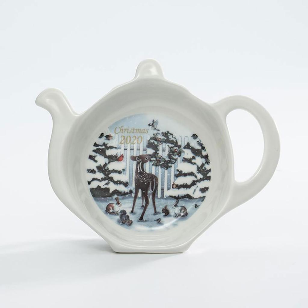 Halcyon Days 2020 Christmas Tea Bag Tidy, MPN: BCCH2001TBN