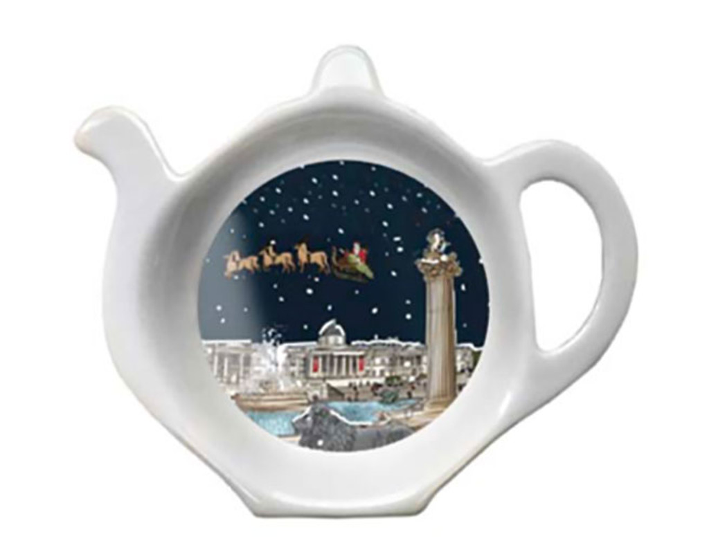 Halcyon Days Trafalgar Square by Night Tea Bag Tidy, MPN: BCTS2001TBN