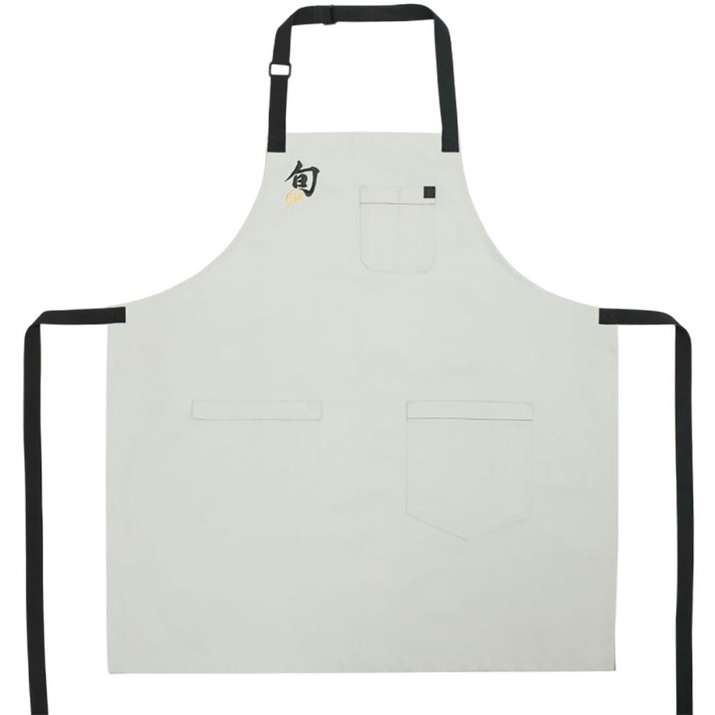 Shun Apron Stingray Light Gray with Cotton Canvas, MPN: SHUNAPRON12, EAN/UPC: 87171049847