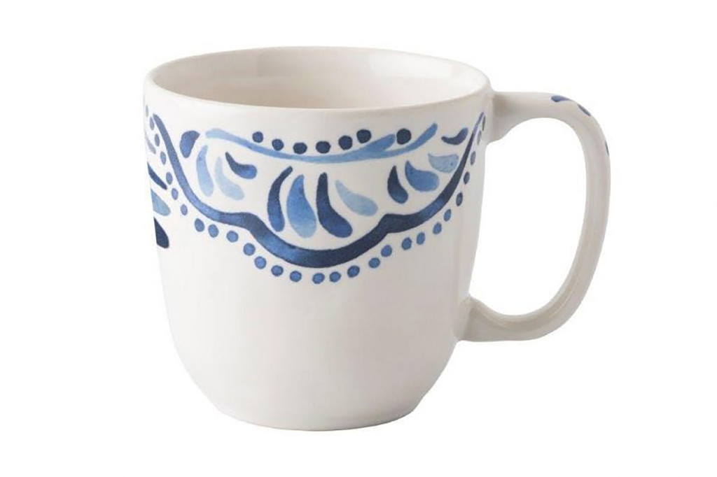 Juliska Iberian Journey Indigo Cofftea Cup MPN: KI46/046, UPC: 815261024548
