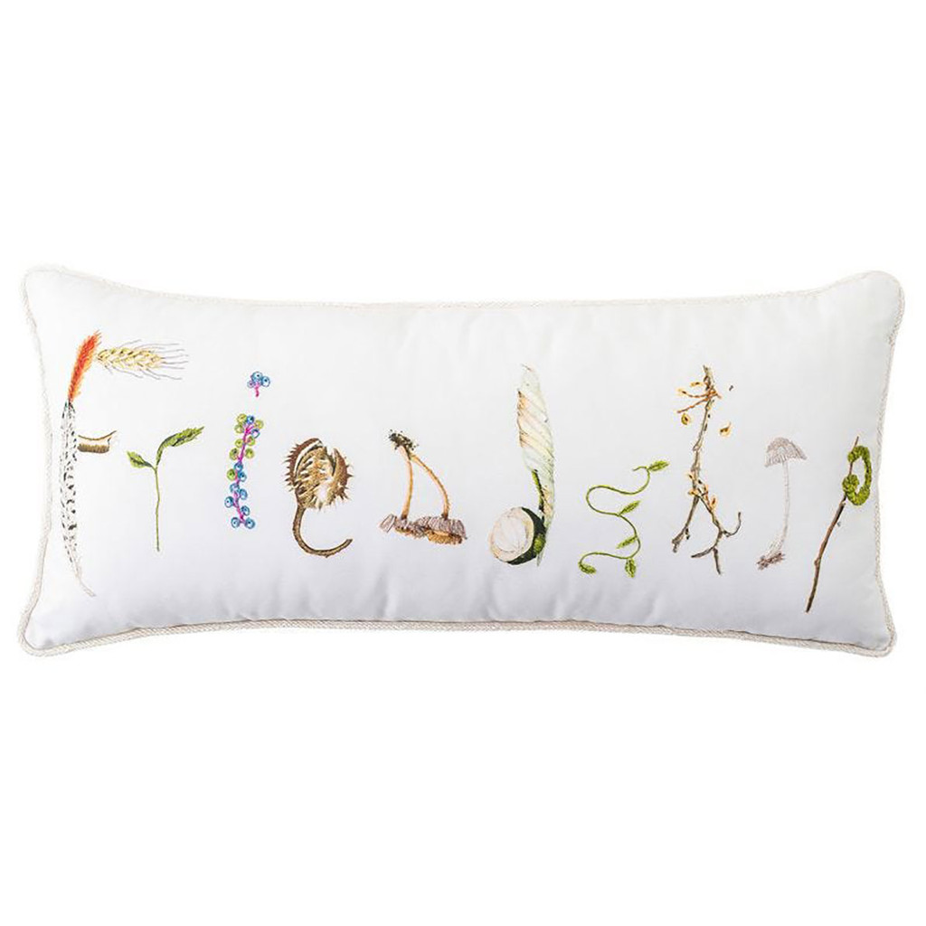 Juliska Forest Walk Friendship 12 Inch x 27 Inch Pillow MPN: PW11/90, UPC: 810034834805
