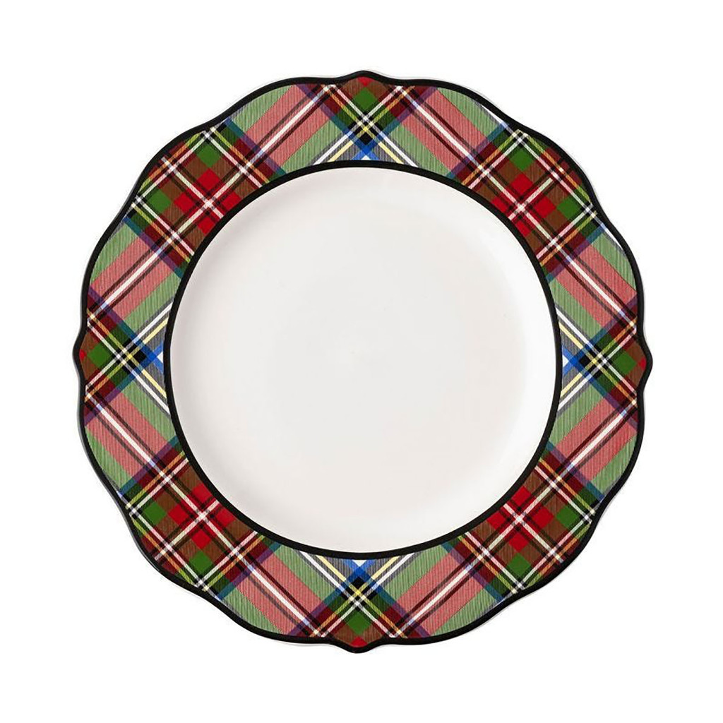 Juliska Stewart Tartan Dinner Plate MPN: TN01/88, UPC: 810034832245