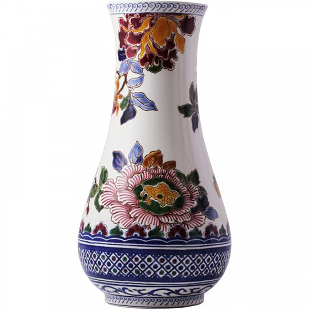 Gien Pivoines Musee Vase Musee, MPN: 1791CVAM00, UPC/EAN: 840769033747