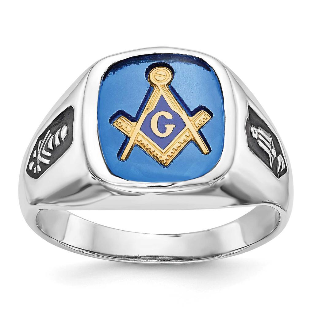 Gold Men's Masonic Ring 14k Gold MPN: Y1589MY UPC: