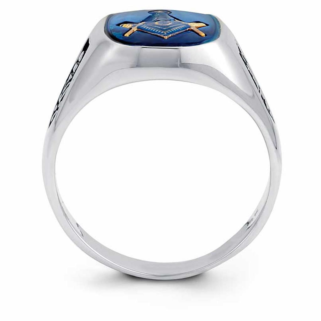 Gold Men's Masonic Ring 14k Gold Y1589MY