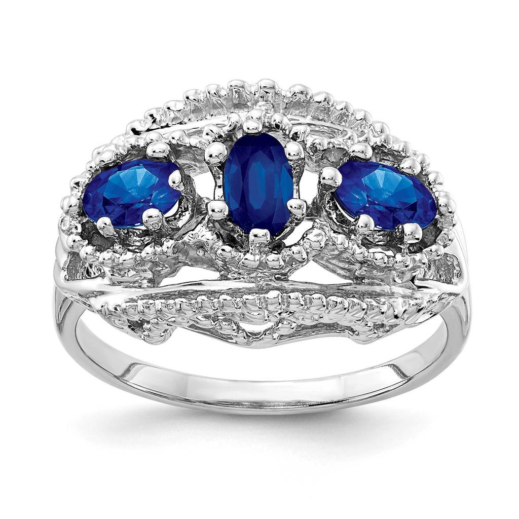 Sapphire Ring 14k Gold MPN: Y2060YS UPC: 883957076799