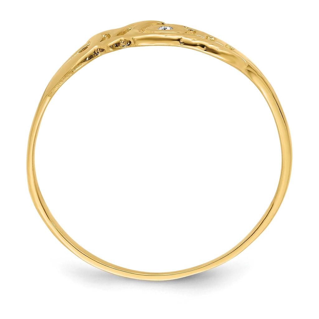 A Diamond Mom Ring 14k Gold Y2331A