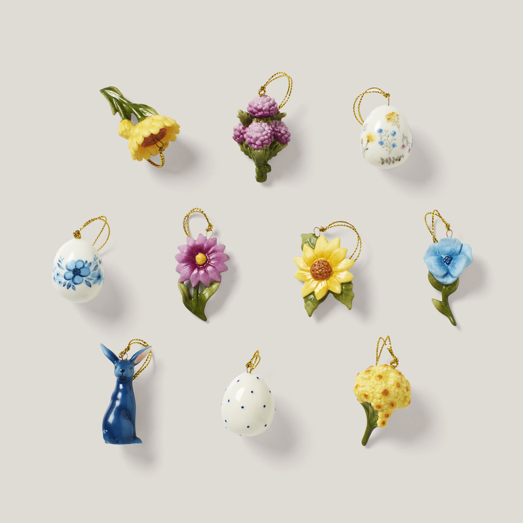 Lenox Ornament Sets Floral Easter10-Piece Ornament Set 893393