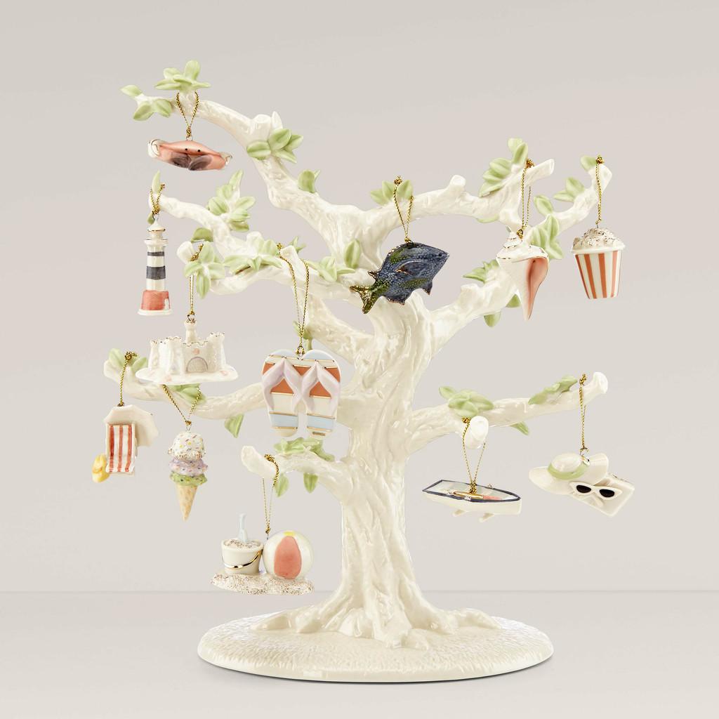 Lenox Ornament Sets Summer12-Piece Ornament Set and Tree 850422