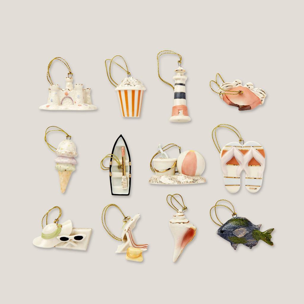 Lenox Ornament Sets Summer12-Piece Ornament Set 847826