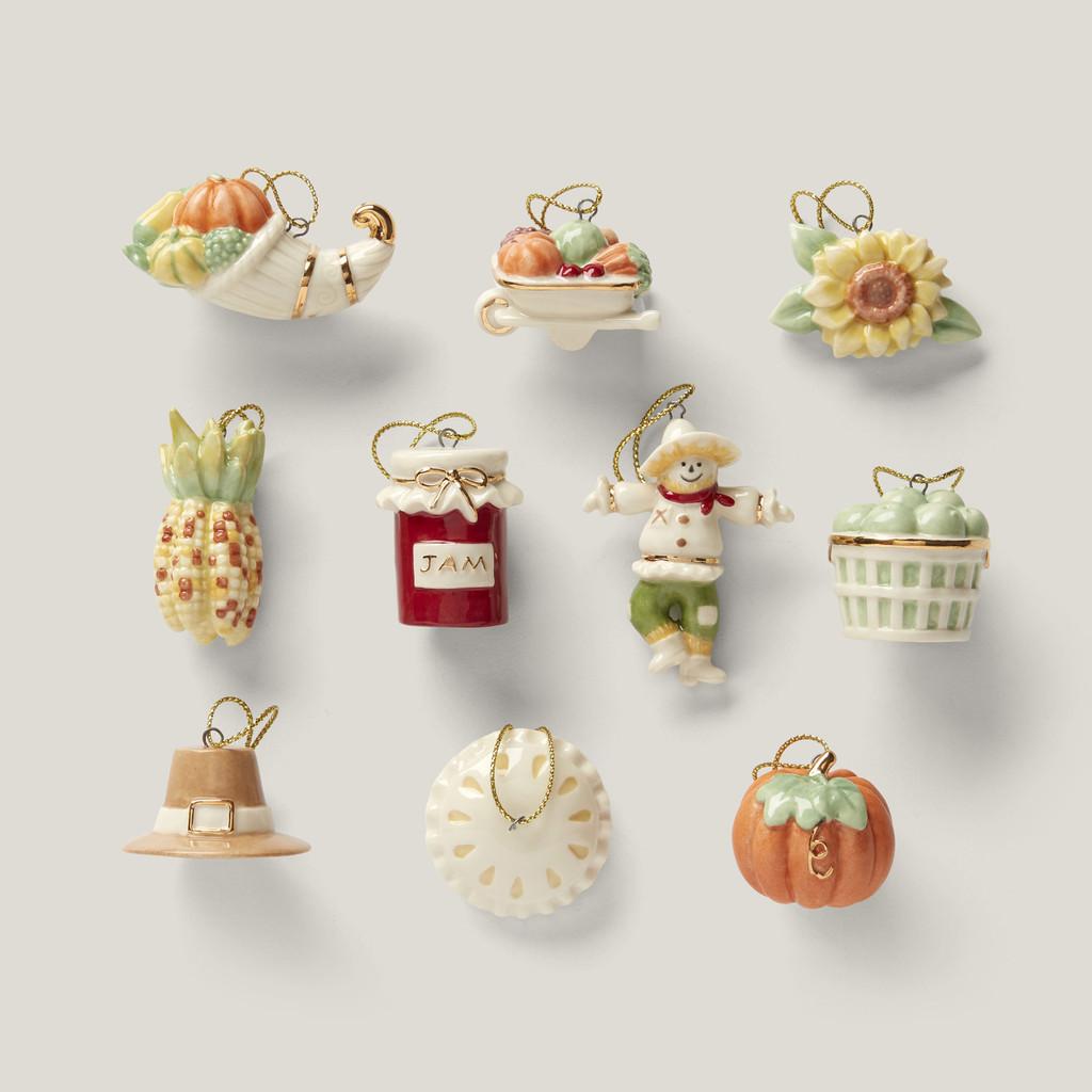 Lenox Ornament Sets Autumn Favorites10-Piece Ornament Set 879308