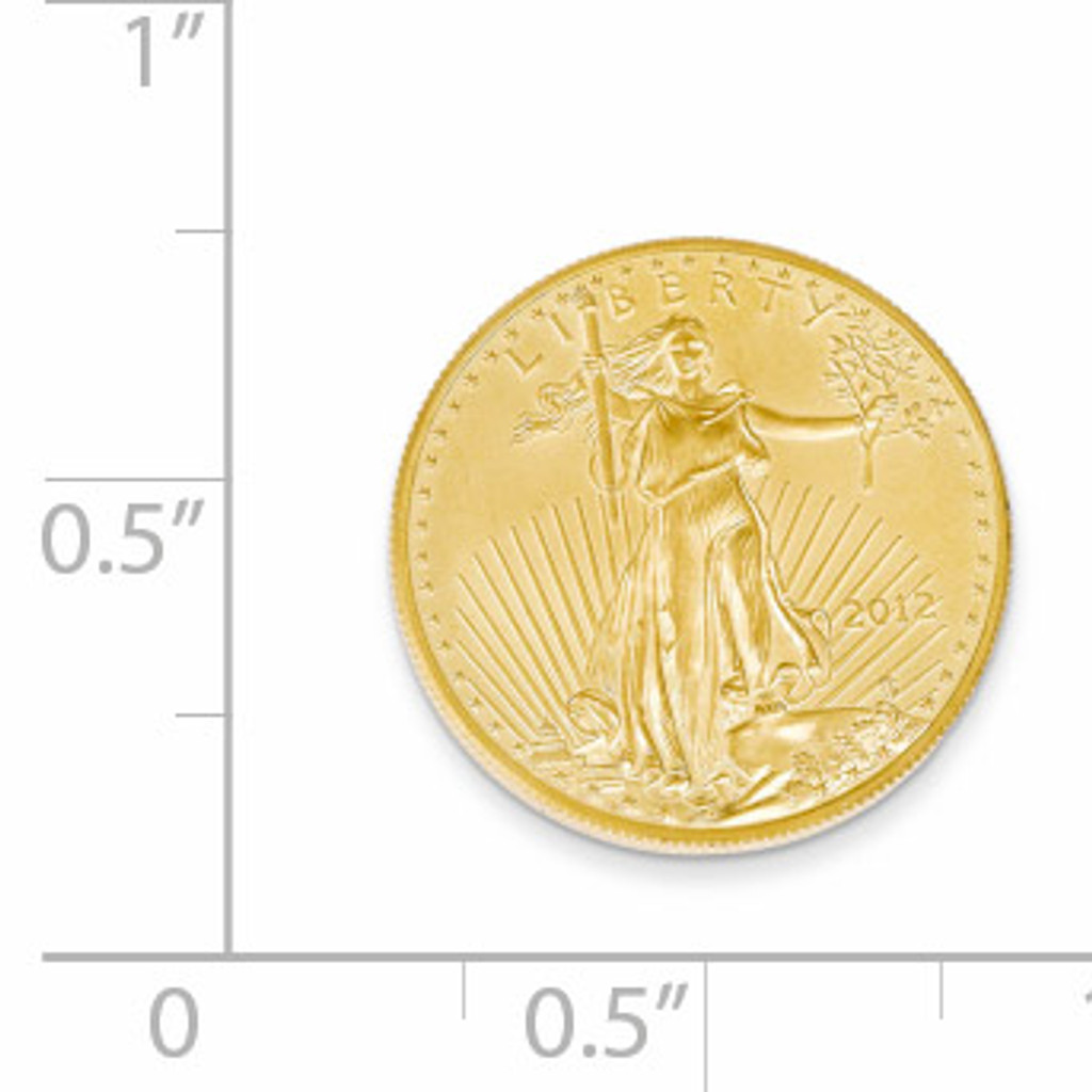22k Gold 1/10th oz American Eagle Coin 1/10AE