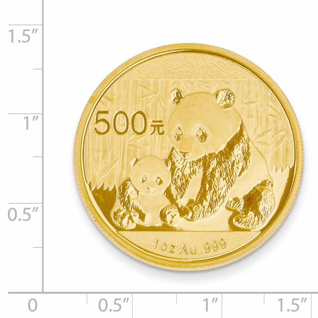 24k Gold 1oz Panda Coin 1P