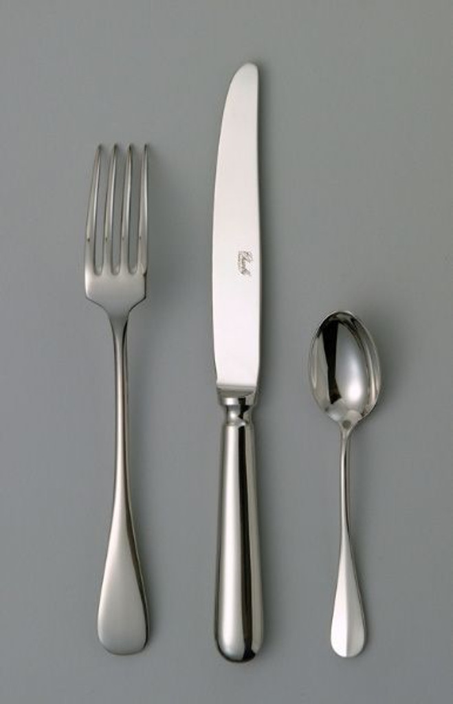 Chambly Baguette Fish Fork - Silver Plated