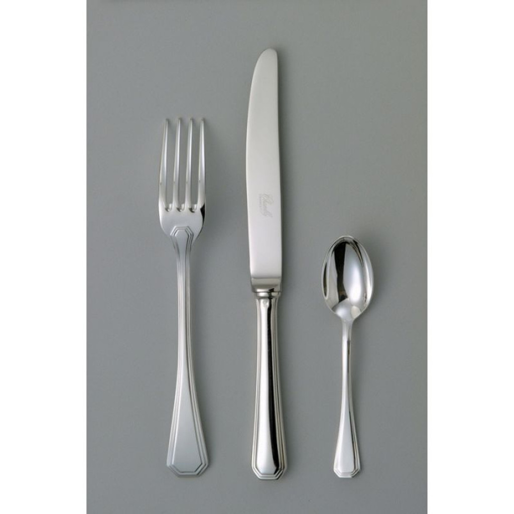 Chambly Acadie Dessert Salad Fork - Silver Plated
