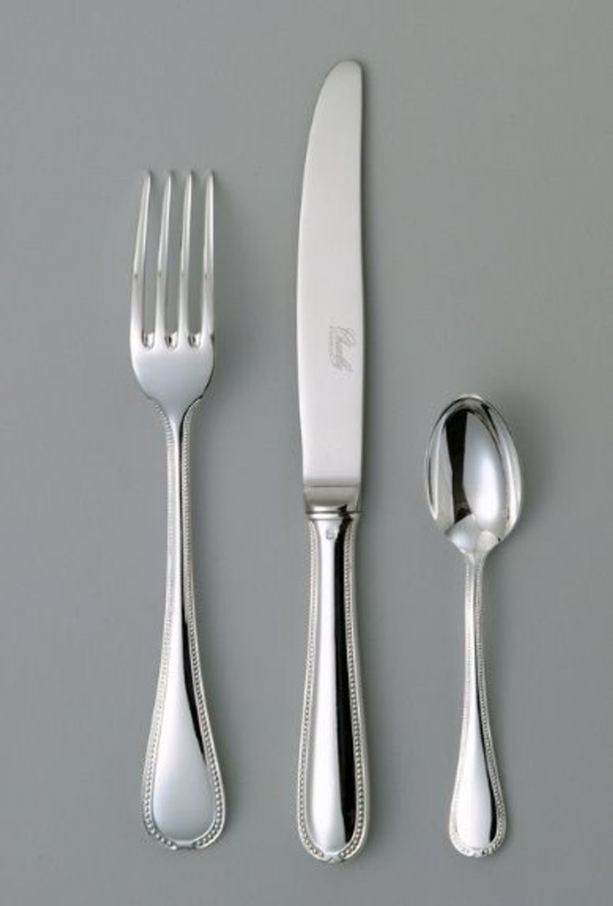 Chambly Senlis Dessert Salad Fork - Silver Plated