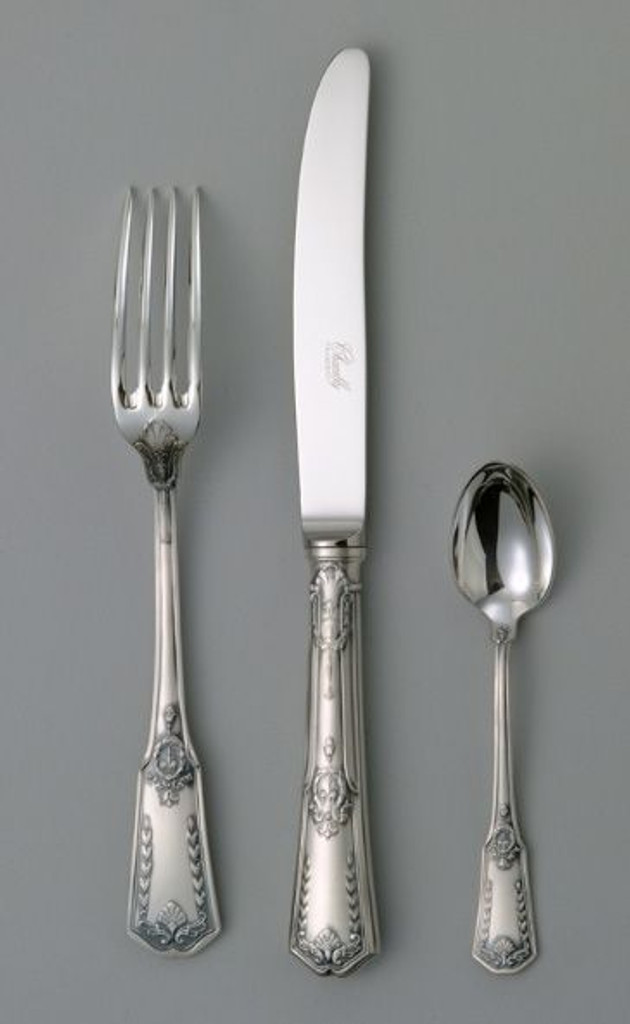 Chambly Empire Fish Knife - Silver Plated