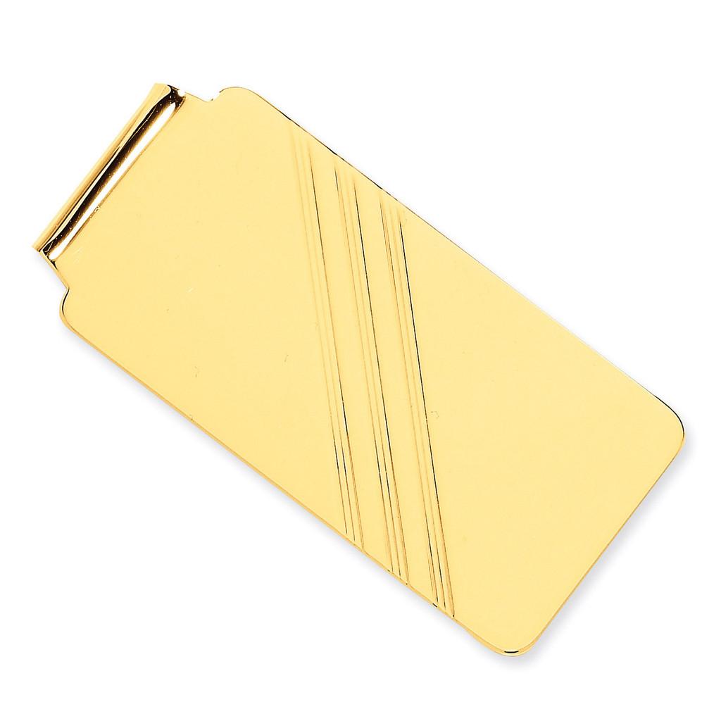 Money Clip 14k Gold MC20